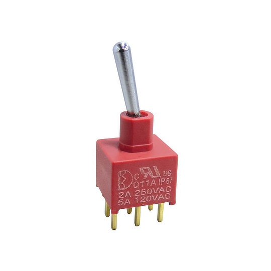 1A Series – Sealed Miniature Toggle Switches