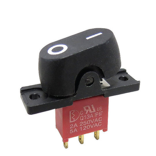 3A Series – Sealed Miniature Rocker Switch