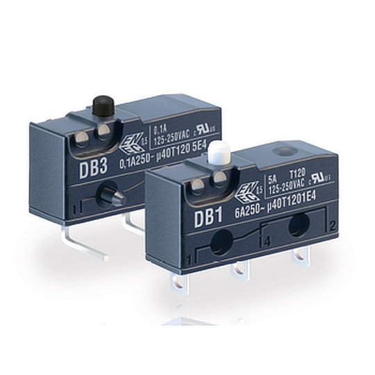 DB Series – Subminiature Microswitches