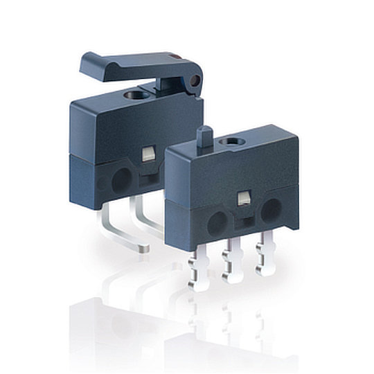 DH Series – Ultraminiature Microswitches