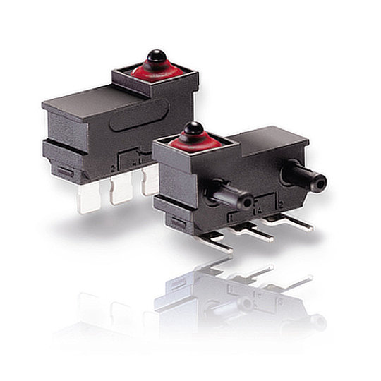 DJ Series – Sealed Sub-Subminiature Microswitches