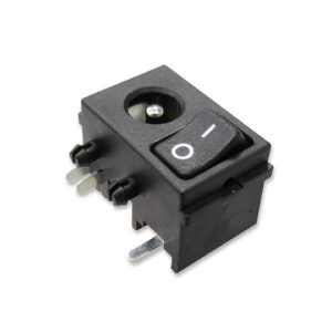 LRJ Series – Power Rocker with DC Jack Socket
