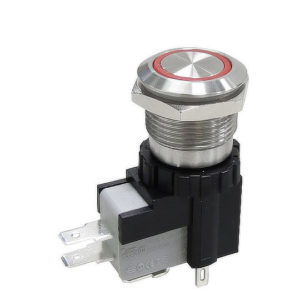 MW19 Series – High Current Illuminated Vandal Resistant Pushbutton