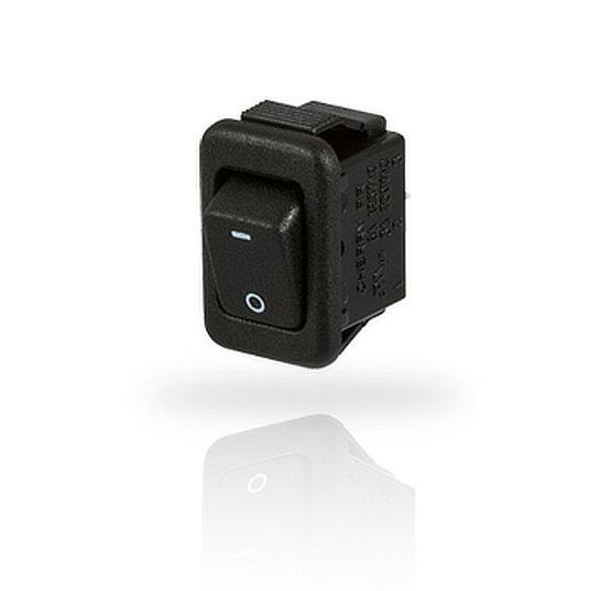 PR Series – Ultraminiature Power Rocker Switch