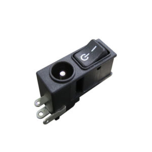RJ Series – Power Rocker with DC Jack Socket