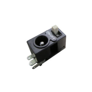 SJ Series – DC Jack Socket with Slide Switch