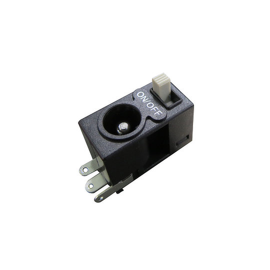 SJ Series - DC Jack Socket with Slide Switch