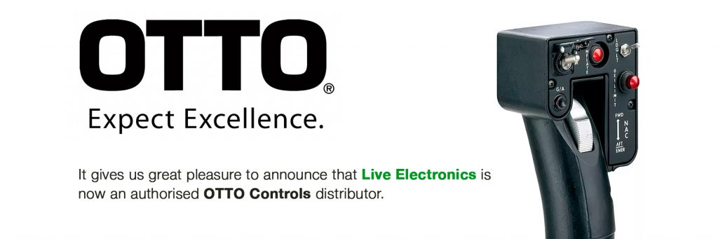 t gives us great pleasure to announce that Live Electronics is now an  authorised OTTO Controls distributor.