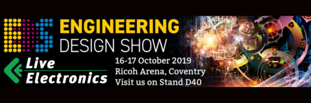 Come and visit us at the Engineering Design Show on stand D40