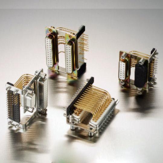 Dual-Port D-Sub Connectors