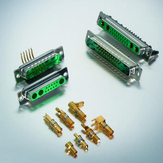 Deltron AG, Combi D-Sub, Hybrid D-Sub, D-sub Connectors